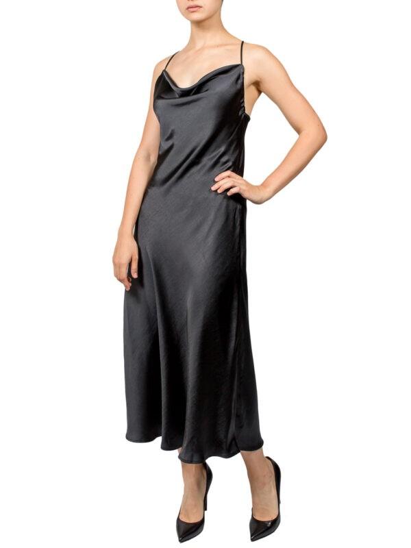 Платье-комбинация Imperial черное