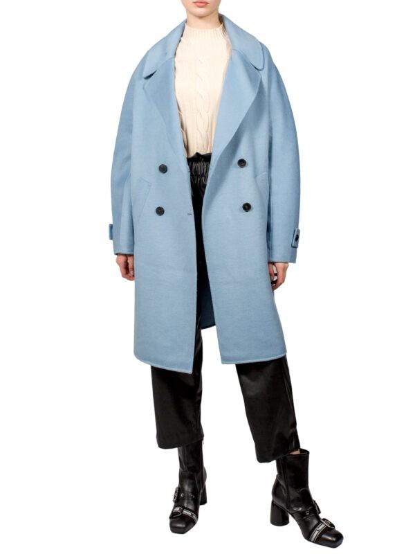 Пальто Vicolo голубое