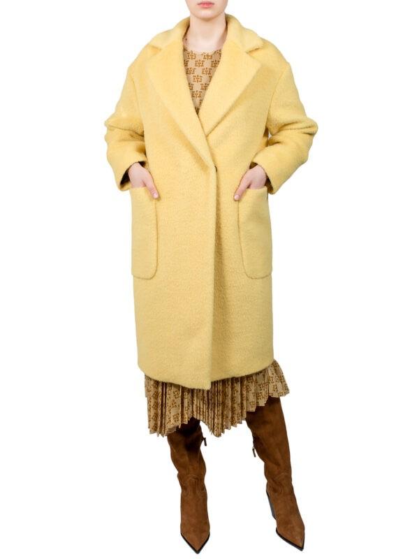 Пальто Beatrice B  желтое
