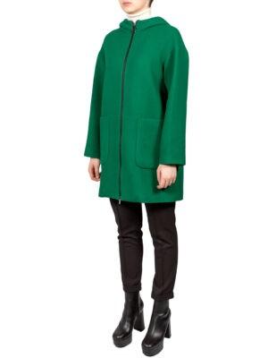 Пальто Sfizio зеленого цвета