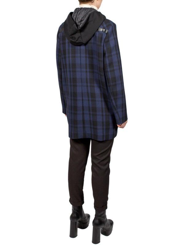 Пиджак Beatrice синий с капюшоном