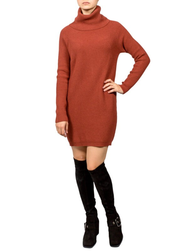 Платье-туника Kontatto коричневая