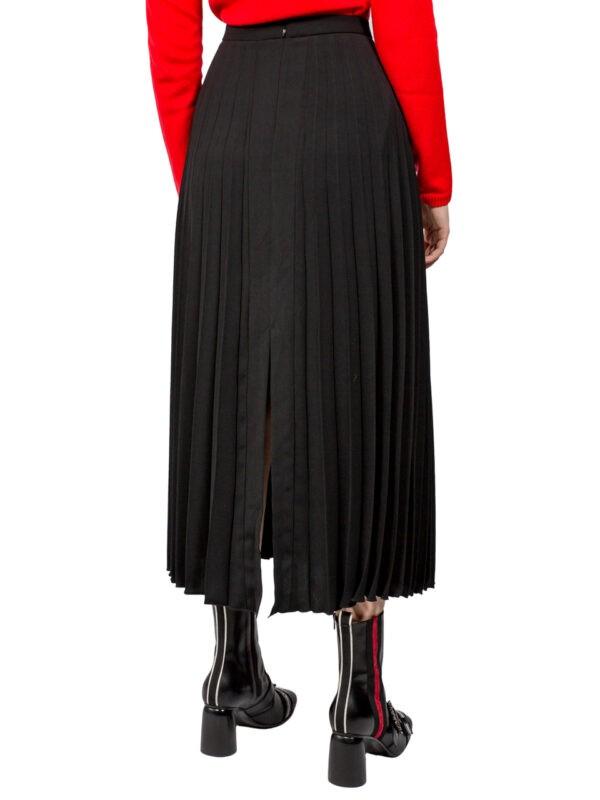 Юбка-плиссе Paquito черная