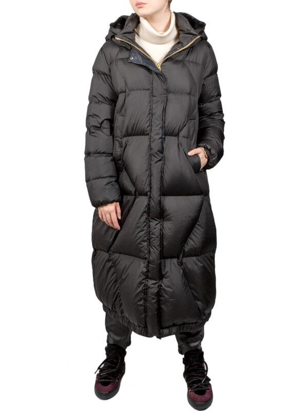 Пальто дутое Paquito черное