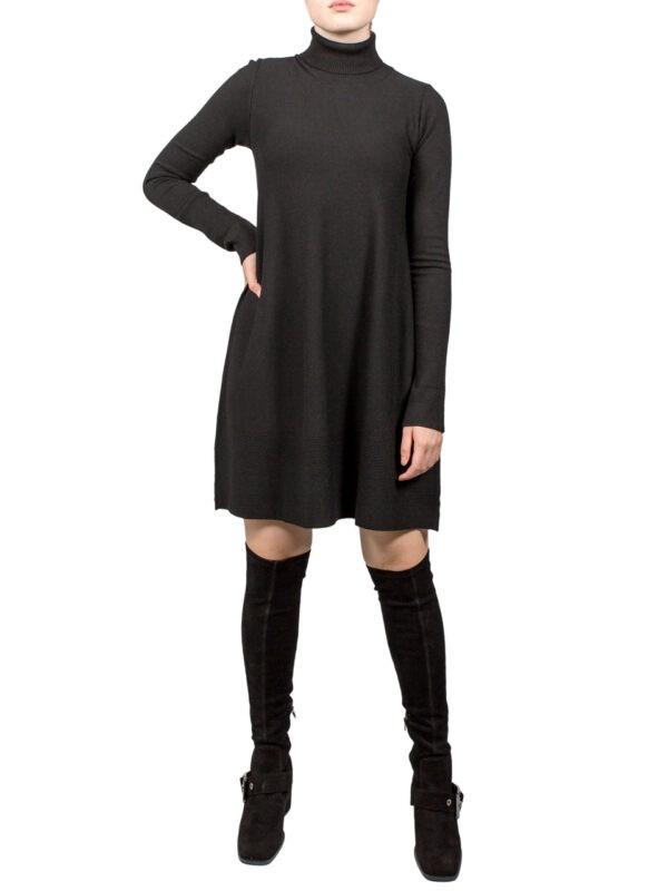 Платье-туника Paquito черная