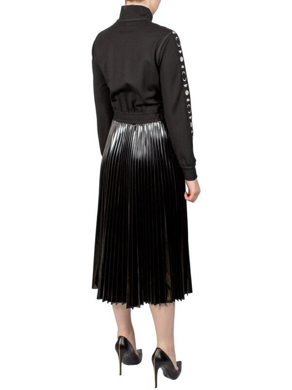 Платье Beatrice черное плиссе