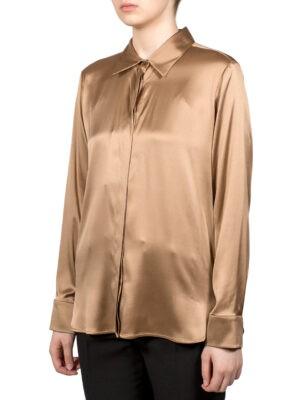 Рубашка Max Mara Studio шелковая