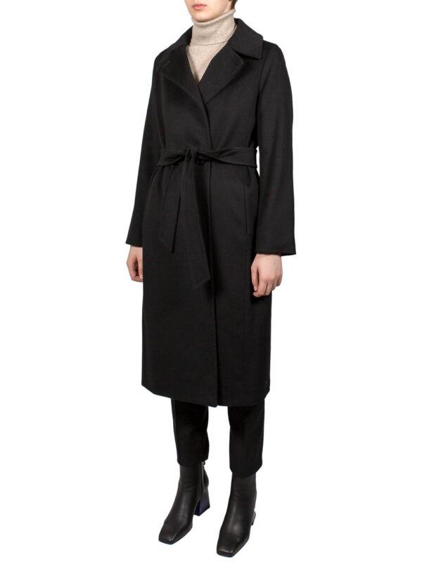 Пальто Max Mara Studio черное