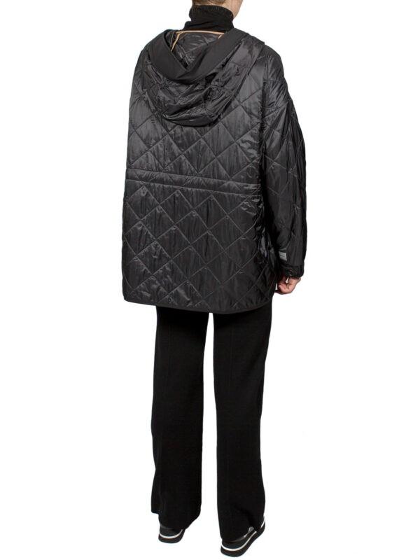 Куртка Max Mara The Cube стеганная с капюшоном