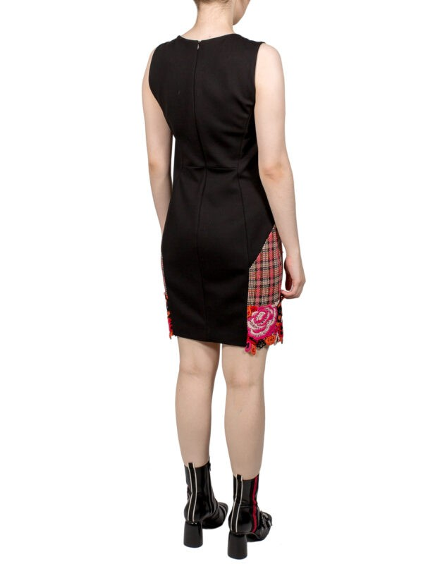 Платье-футляр VDP черное