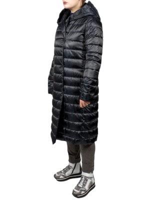Пальто Max Mara The Cube синее стеганное