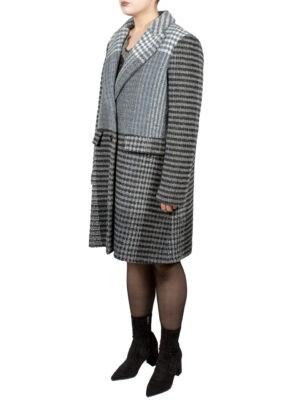 Пальто Twin-Set серое