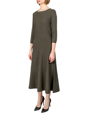 Платье D. Exterior цвета хаки
