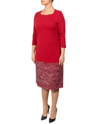 Платье D. Exterior красное с люрексом