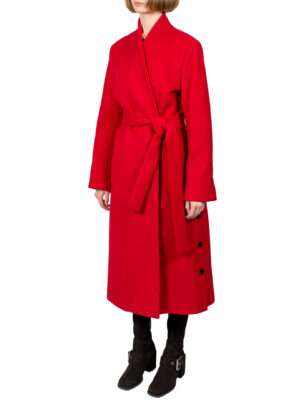 Пальто Beatrice красное
