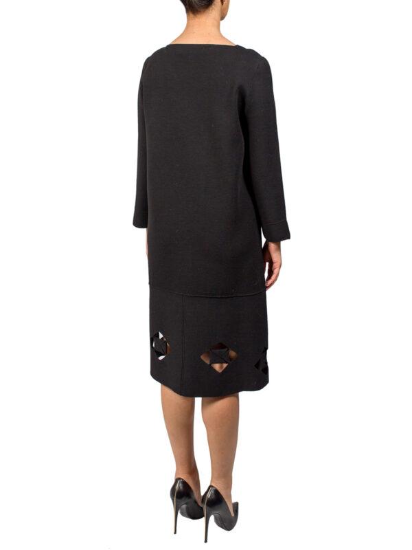 Платье D. Exterior черного цвета с узором
