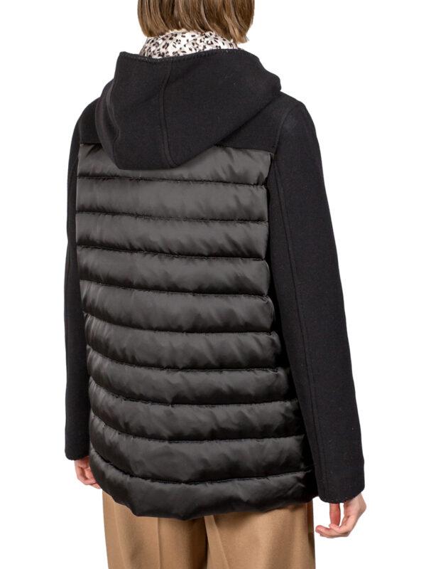 Куртка VDP черная с накладными карманами